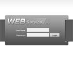 ภาพตัวอย่างการใช้งานผ่านอินเตอร์เน็ต (Built-in Web Service) ด้วยความละเอียดระดับ Megapixel